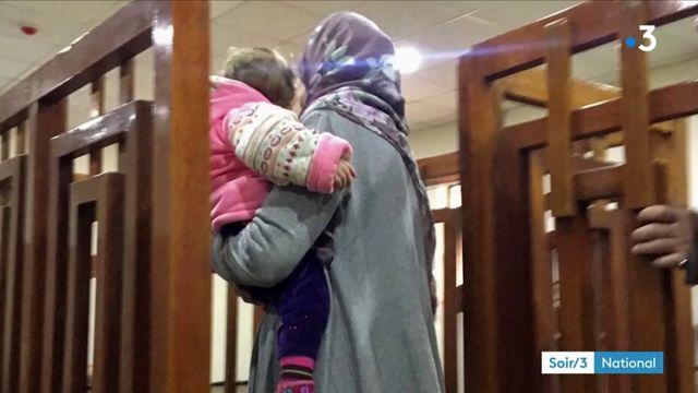 Une jihadiste française expulsée d'Irak