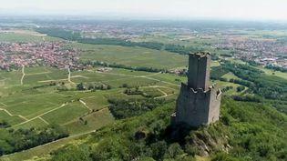En France, une multitude de châteaux forts se dévoilent lorsqu'on arpente les 400 km de l'Alsace. (FRANCE 2)