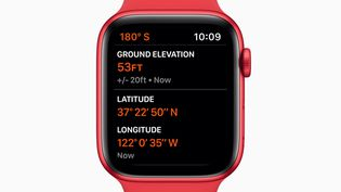 Une apple Watch (illustration 15 septembre 2020). (APPLE / HANDOUT HANDOUT / MAXPPP)