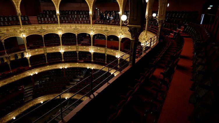 Le théâtre du Châtelet, rénové (5 septembre 2019) (LIONEL BONAVENTURE / AFP)
