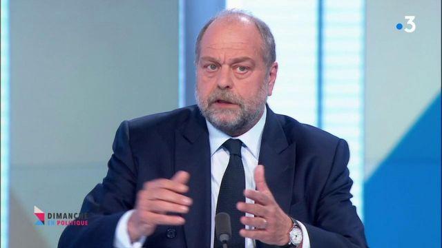 """Eric Dupont-Moretti : sur le vaccin, """"les détenus ont les mêmes droits"""" que le reste de la société civile"""