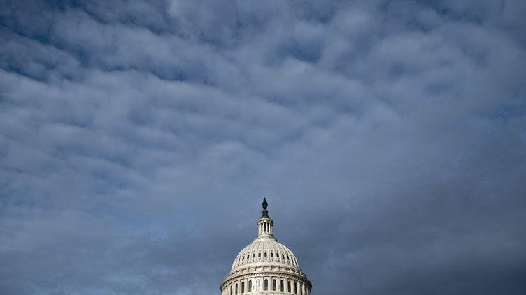 Le Capitole, à Washington (Etats-Unis). (SAUL LOEB / AFP)