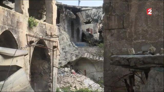 Guerre en Syrie : Alep, une merveille devenue champ de ruines