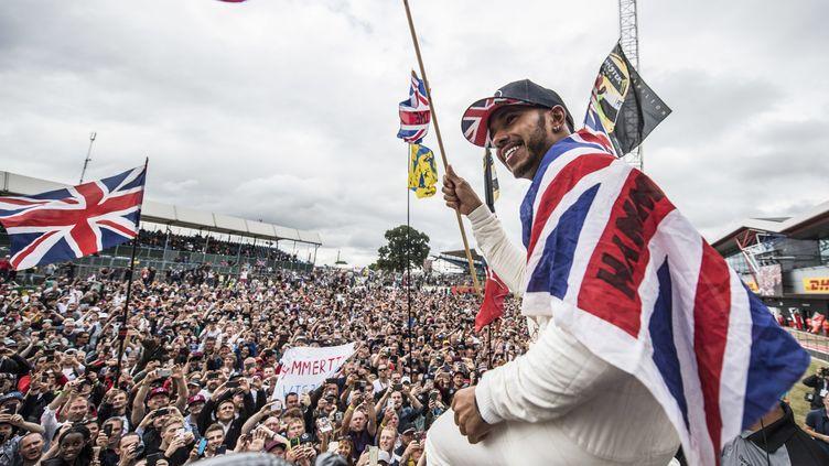Lewis Hamilton s'est imposé chez lui en Grande-Bretagne (HOCH ZWEI / HOCH ZWEI)