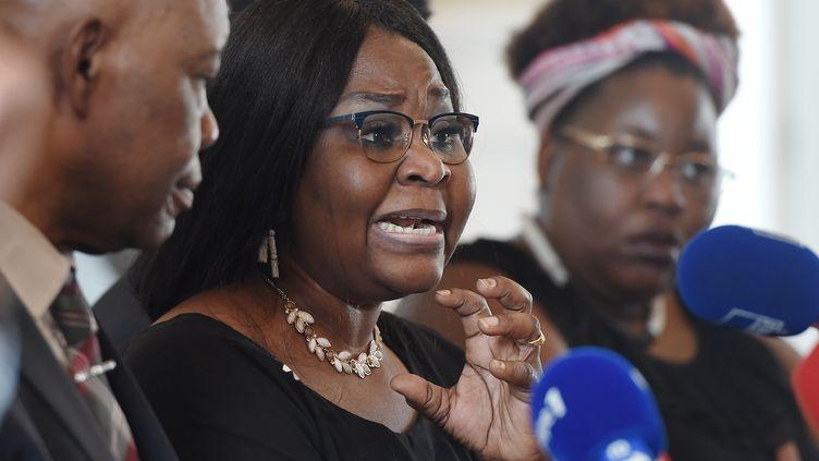 Photo d'illustration. HonorineMusenga, la mère de Naomi Musenga. (FREDERICK FLORIN / AFP)
