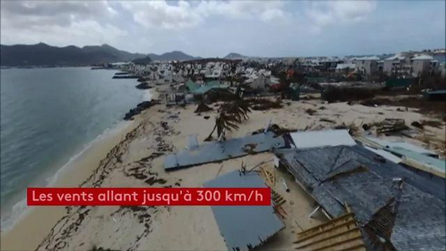 Saint-Martin par drone