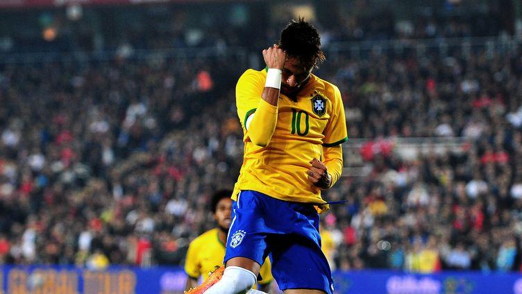 Neymar et le Brésil ira au Stade de France (OZAN KOSE / AFP)