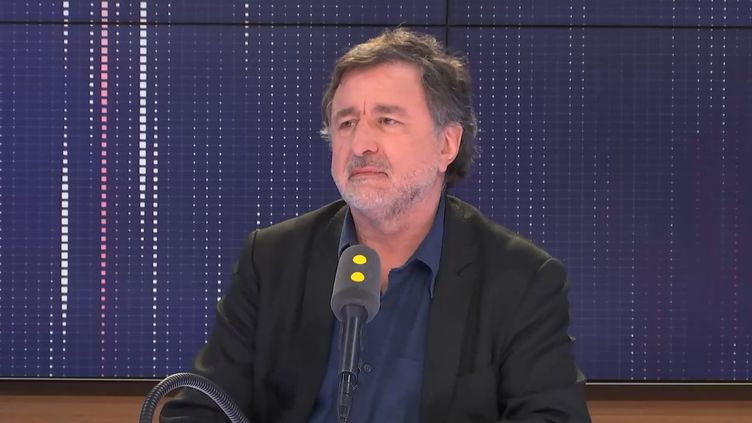 L'auteur et réalisateur Jean-Michel Djian était l'invité de franceinfo mercredi 12 juin 2019. (FRANCEINFO / RADIOFRANCE)