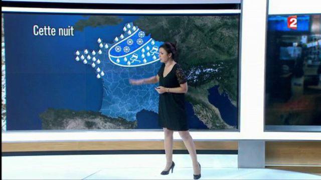 Météo : la neige attendue sur l'Ile-de-France