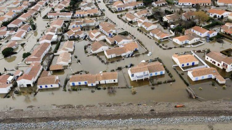 La Faute-sur-Mer (Vendée), après le passage de la tempête Xynthia, le 3 mars 2010. ( AFP )