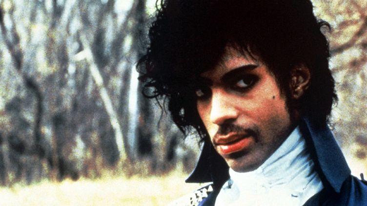 "Prince en 1984 dans le film ""Purple Rain""  (Sunshine International / Sipa)"