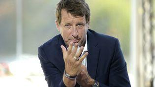 Yannick Jadot, eurodéputé EELV, le 27 août 2020. (ERIC PIERMONT / AFP)