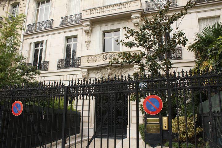 L'appartement de Jeffrey Epstein, situé au 22 avenue Foch, à Paris. (OLIVIER LIFFRAN)