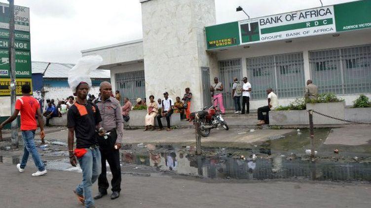 Kinshasa (RD-Congo), le 22 janvier 2015.   (AFP PHOTO / PAPY MULONGO)