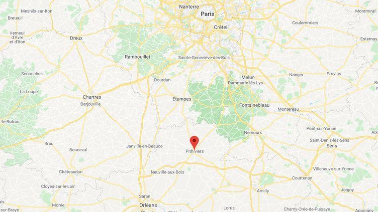 L'enfant est tombé de son immeuble à Pithiviers, dans le Loiret. (GOOGLE MAPS)