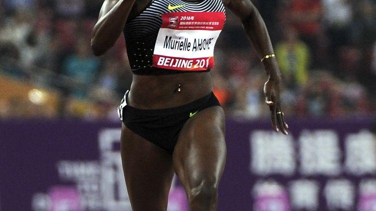 La sprinteuse ivoirienne Murielle Ahouré (WANG ZHAO / AFP)