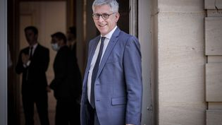 Frédéric Valletoux, le 13 juillet 2020à Matignon. (LUC NOBOUT / MAXPPP)