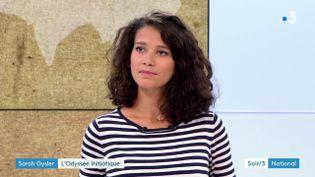 Sarah Gysler (France 3)
