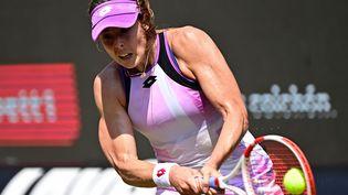 La joueuse de tennis française Alizé Cornet lors du tournoi de Berlin, le 19 juin 2021. (TOBIAS SCHWARZ / AFP)