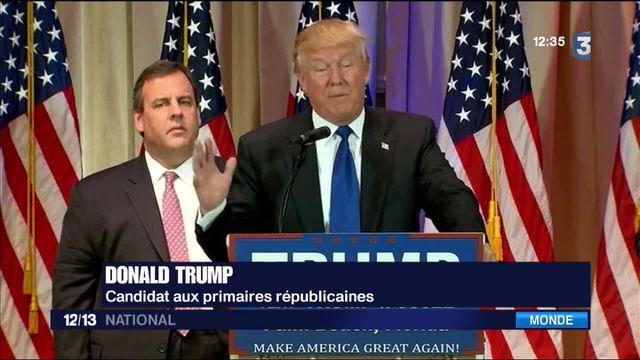 Primaires américaines : Trump face à un front