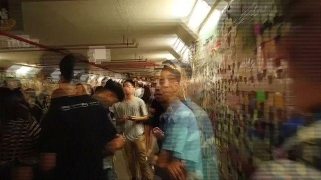 Hong Kong : la révolte des post-it