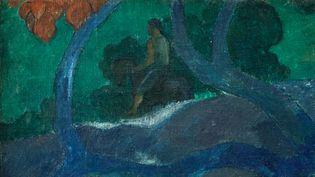 "Paul Gauguin, ""Te Bourao II"" (détail) (coutesy Artcurial)"