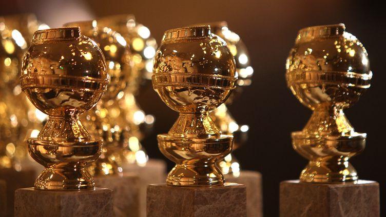 Les statuettes des Golden Globes en 2009. (FRAZER HARRISON / GETTY IMAGES NORTH AMERICA)