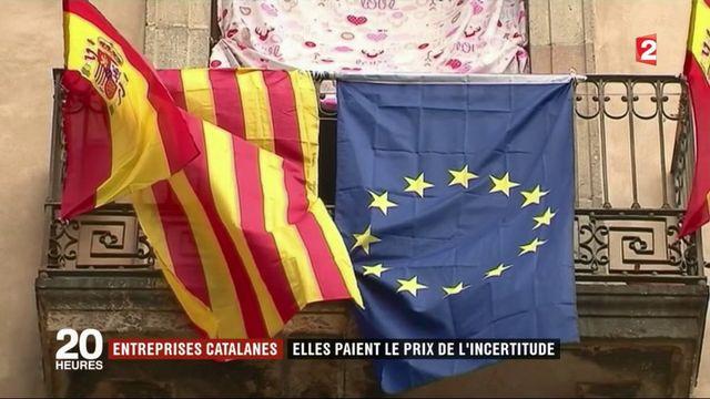 Catalogne : les entreprises catalanes paient le prix de l'incertitude