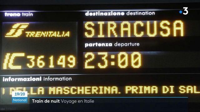 Italie : les trains de nuit ont toujours du succès