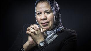 Latifa Ibn Ziaten, mère d'Imad Ibn Ziaten, le premier militaire tué par Mohamed Merah en mars 2012. (JOEL SAGET / AFP)