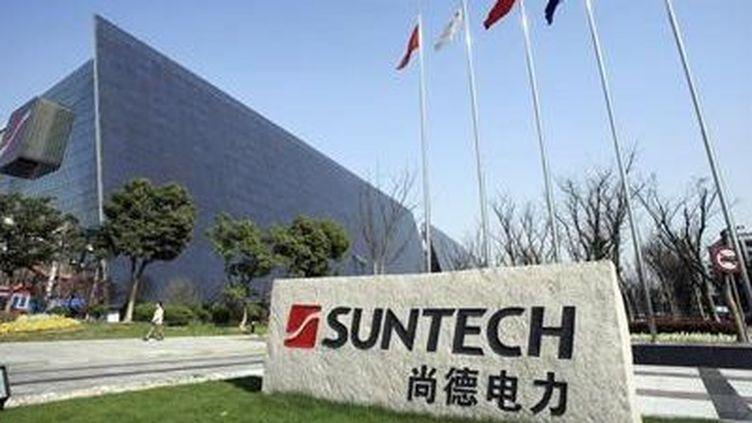 Le siège de Suntech à Wuxi en Chine. (Reuters/Stringer)