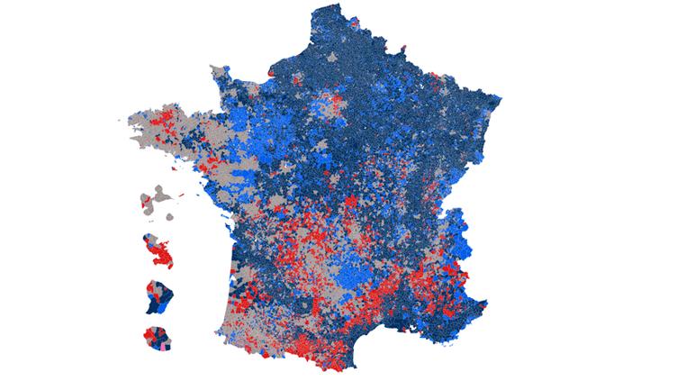CARTE. Election présidentielle : découvrez les résultats du premier tour dans votre commune (NICOLAS ENAULT / CARTO)
