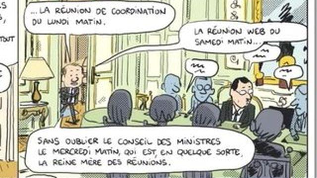 La vie de François Hollande dessinée en BD