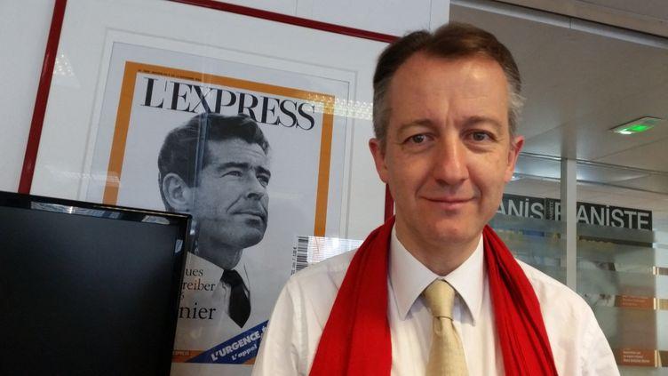 Christophe Barbier à L'Express le 19 juillet 2016 (BENOIT COLLOMBAT / SERVICE INVESTIGATION / RADIO FRANCE)