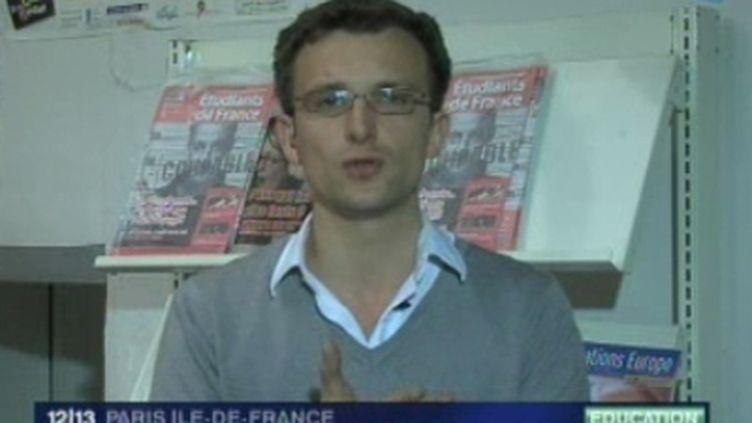 Jean-Baptiste Prévost, le Président de l'Unef (© France)
