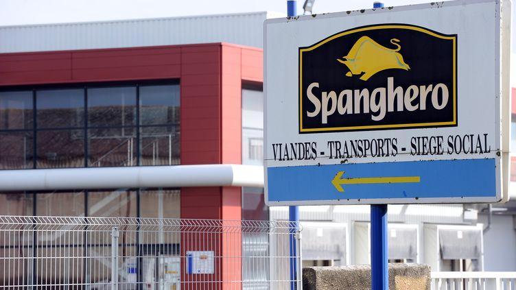 L'usine de la société Spanghero, à Castelnaudary (Aude), le 10 février 2013. (REMY GABALDA / AFP)