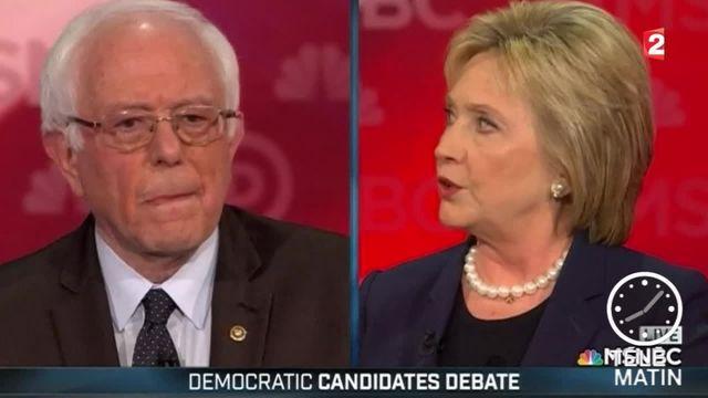 Etats-Unis : la campagne se tend entre les démocrates Clinton et Sanders