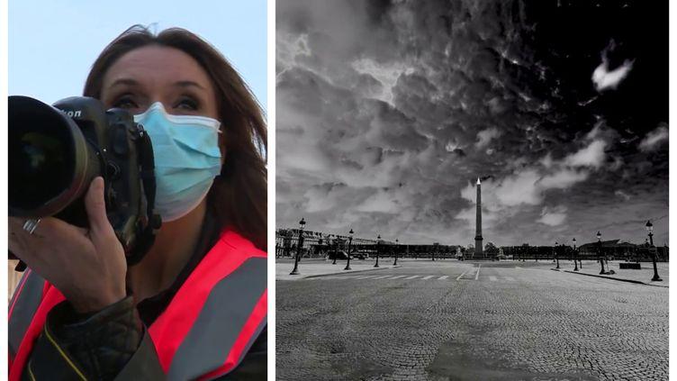 Paris vide dans l'objectif de Vanessa Vercel (France Télévisions / N.Metauer / Vanessa Vercel)