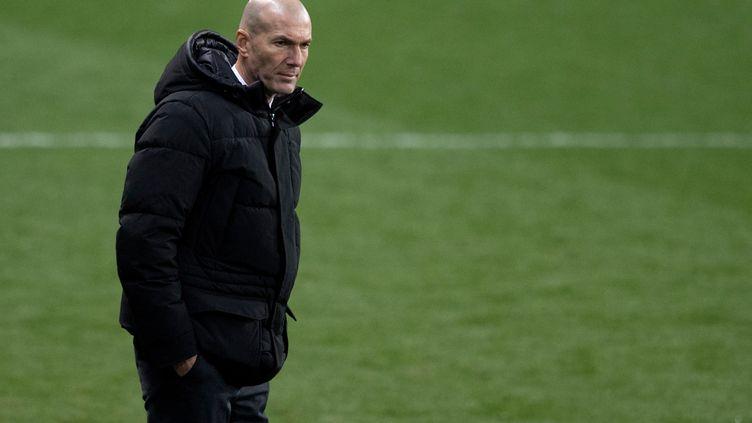 Zinedine Zidane (Real Madrid) (JORGE GUERRERO / AFP)