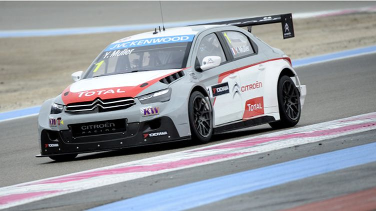 Yvan Muller (FRA/Citroën C-Elysée) (FRANCK PENNANT / AFP)