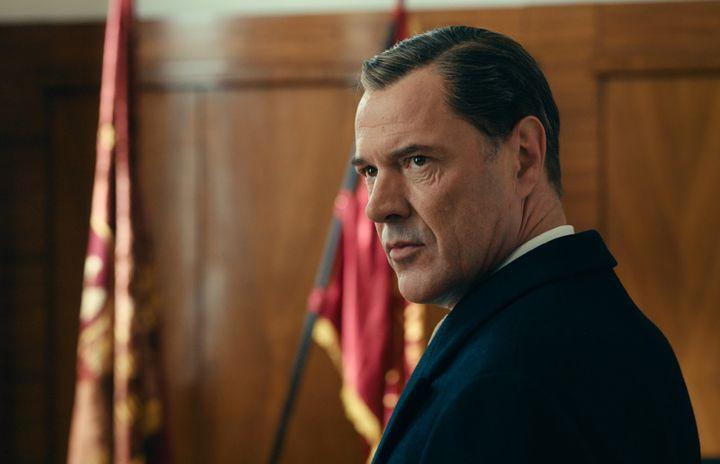 "L'acteur allemand Sebastian Koch dans ""L'Oeuvre sans nom"" deFlorian Henckel Von Donnersmarck. (NULL / Copyright Walt Disney Germany)"