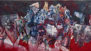 Dado arrive en France en 1956. Travaillant dans un atelier de lithographie, il est très vite amené à rencontrer beaucoup d'artistes parisiens. L'un d'entre eux, Jean Dubuffet, avec qui il se lie d'amitié, lui présente son galeriste, Daniel Cordier, qui lui achète son premier tableau en 1957.  (Dado)