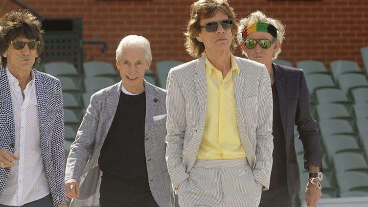 Les Rolling Stones à Adelaïde (Australie) le 23 octobre 2014.  (Tom Huntley/Newspix/REX/REX/SIPA)