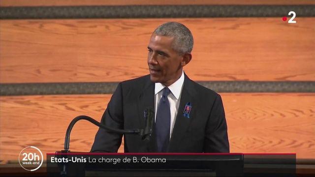 États-Unis : Barack Obama s'en prend à Donald Trump