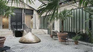 Cour intérieure du 18 rue de la Verrerie à Paris  (Andrea Aversa)