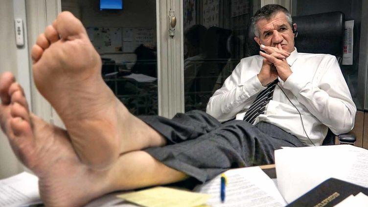 """Dans """"Un berger et deux perchés à l'Elysée ?"""", les réalisateurs Pierre Carle et Philippe Lespinasse reviennent sur la campagne de Jean Lassale à la Présidence de la République en 2017.  (DR / Jour2fête)"""