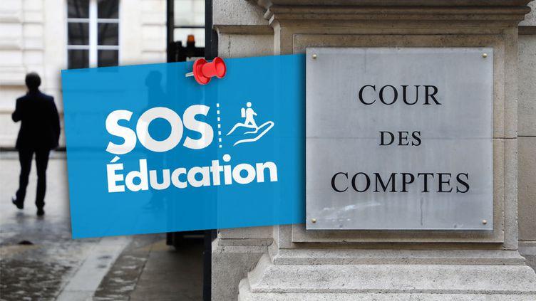 La Cour des comptes publie un rapport sur l'association SOS Éducation jeudi 29octobre 2020. (LUDOVIC MARIN / AFP - MARTIN BROYER / RADIO FRANCE)