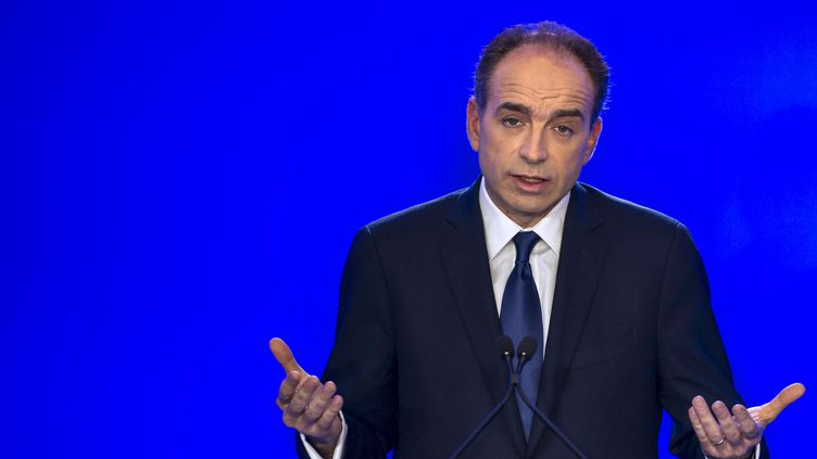 Le président de l'UMP, Jean-François Copé, le 29 mars 2013 à Paris. (FRED DUFOUR / AFP)