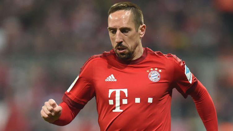 Le joueur français Franck Ribéry