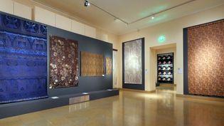 Une salle du musée des tissus de Lyon  (Pierre Augros / PhotoPQR / Le Progrès / MAXPPP)